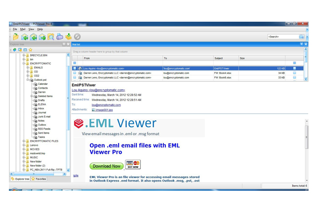 MSG Viewer Pro - View Mail